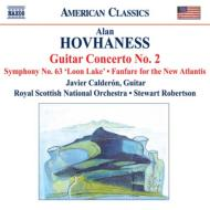 ギター協奏曲第2番、交響曲第63番『ルーン・レイク』 カルデロン、ロバートソン&スコティッシュ・ナショナル管