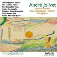 弦楽四重奏曲、狂詩的組曲、夜想曲、5つのエグローグ ルセフ、オボワン、他