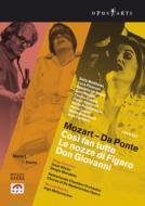 ダ・ポンテ オペラ3部作 ヴィーラー&モラビト演出、メッツマッハー&ネーデルラント室内管、ドゥ・ニース、スパニョーリ、他(2006、07 ステレオ)(4DVD)