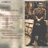 2つのヴァイオリンのための協奏曲、2台のピアノのための協奏曲、夜の愉しみ フリストプーロス&テッサロニキ国立響、他