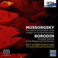 Mussorgsky:Pictures At An Exhibition.A Night On The Bare Mountain.Borodin:Polovtsian Dances