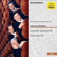 ブラームス(1833-1897)/Comp. string Quartets: Auryn Q