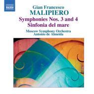 交響曲第3番、第4番、シンフォニア『海』 アルメイダ&モスクワ交響楽団
