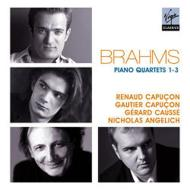 ピアノ四重奏曲第1番、第2番、第3番 アンゲリッシュ、R.カプソン、コセ、G.カプソン(2CD)