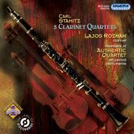 クラリネット四重奏曲集 ロズマーン、オーセンティック四重奏団員