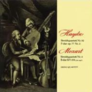 モーツァルト:弦楽四重奏曲第17番『狩』、ハイドン:弦楽四重奏曲第82番 ドロルツ四重奏団