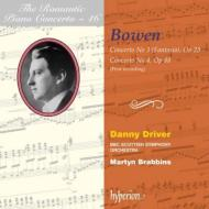 ピアノ協奏曲第3番、第4番 ドライヴァー、ブラビンス&BBCスコティッシュ響