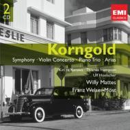 交響曲、ヴァイオリン協奏曲、空騒ぎ、他 ヴェルザー=メスト&フィラデルフィア管、ヘルシャー、マッテス&シュトゥットガルト放送響、他(2CD)