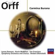カルミナ・ブラーナ ブロムシュテット&サンフランシスコ交響楽団