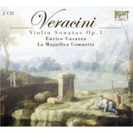 ヴァイオリン独奏と通奏低音のための12のソナタ カサッツァ、ラ・マニフィカ・コムニタ(2CD)