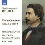 ヴァイオリン協奏曲第2番、第3番、第5番 クィント、トレヴァー&スロヴァキア放送響