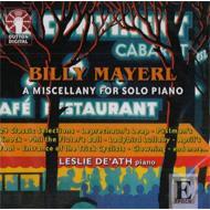 A Miscellany For Solo Piano: De'ath