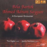 バルトーク:ヴァイオリン・ソナタ第2番、サイグン:ヴァイオリン・ソナタ、他 T.フォーグラー、ネムツォフ