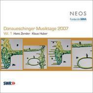 ドナウエッシンゲン音楽祭2007 Vol.1(ツェンダー:ロゴス=断片、他 カンブルラン、フーバー&南西ドイツ放送響、ほか)