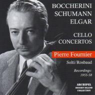 エルガー:チェロ協奏曲、シューマン:チェロ協奏曲、他 フルニエ、ロスバウト&ケルン放送響、南西ドイツ放送響、他