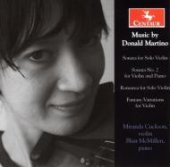 Violin Works: Cuckson(Vn)Mcmillen(P)
