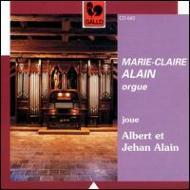 Organ Works: M-c.alain +albert Alain