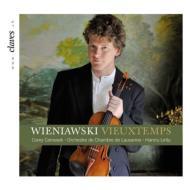 ヴュータン:ヴァイオリン協奏曲第5番、ヴィエニャフスキ:ヴァイオリン協奏曲第2番、ファウスト幻想曲 セロヴシェク