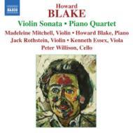 ヴァイオリン・ソナタ、ピアノ四重奏曲、ジャズ・ダンス、ペニリオン ブレイク、ミッチェル、ロトスタイン、他