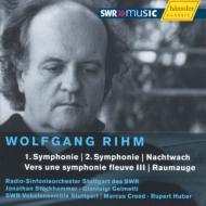 交響曲第1番、第2番、大河交響曲に向かってIII、他 ストックハマー、クリード、ジェルメッティ指揮シュトウットガルト放送響