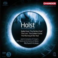 Orchestral Works Vol 1 : Hickox / BBC National Orchestra of Wales