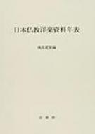 日本仏教洋楽資料年表
