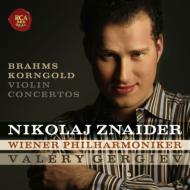 ブラームス:ヴァイオリン協奏曲、コルンゴルト:ヴァイオリン協奏曲 スナイダー、ゲルギエフ&ウィーン・フィル