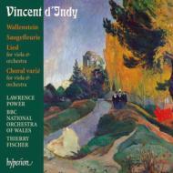『ヴァレンシュタイン』、『コラール・ヴァリエ』、『花咲くサルビア』、『歌』 T.フィッシャー&ウェールズ・ナショナル管、パワー