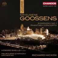 交響曲第1番、幻想協奏曲 ヒコックス&メルボルン響、シェリー