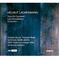 慰め、コードウェルのための祝砲、コンチェルティーニ カリツケ&ケルン放送響、クラングフォルム・ウィーン、他