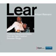 『リア王』全曲 ヴァイグレ&フランクフルト歌劇場、W.コッホ、シャルボネ、他(2008 ステレオ)(2CD)