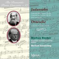 ヤーダスゾーン:ピアノ協奏曲第1番、第2番、ドレーゼケ:ピアノ協奏曲 ベッカー、M.ザンデルリング&ベルリン放送交響