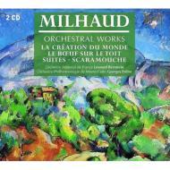 管弦楽曲集、ピアノ曲集 バーンスタイン、プレートル指揮、ベロフ、コラール、リー、イヴァルディ(2CD)