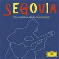 セゴビア/ザ・コレクション‐1〜アメリカ・デッカ・レコーディングス(6CD)