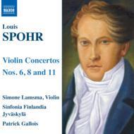 ヴァイオリン協奏曲第6、8、11番 シモーネ・ラムスマ(vn)、ガロワ&シンフォニア・フィンランディア