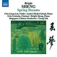 ヴァイオリンとオーケストラ、中国の楽器のための「春の夢」、他 チョー=リャン・リン(vn)、他