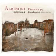 4声のシンフォニア作品2(6曲) バンキーニ&アンサンブル415