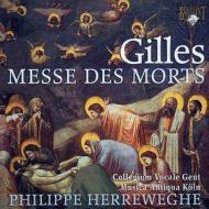 ジル:死者のためのミサ、コレット:葬礼の鐘 ヘレヴェッヘ&コレギウム・ヴォカーレ、ゲーベル&ムジカ・アンティクヮ・ケルン
