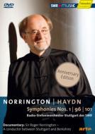 交響曲第96番、第101番、第1番 ノリントン&シュトゥットガルト放送交響楽団(ドキュメンタリー付)