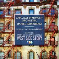 バーンスタイン:『ウェスト・サイド物語』シンフォニック・ダンス、ガーシュウィン:キューバ序曲、ラヴェル:『ダフニスとクロエ』第2組曲、他 バレンボイム&シカゴ響