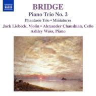 ピアノ三重奏曲集 リーベック、チャウシャン、ウェイス