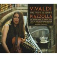 ヴィヴァルディ:四季、ピアソラ:ブエノスアイレスの四季 ララ・セント・ジョン、マルトゥレ&シモン・ボリバル・ユース・オーケストラ