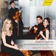 ハイドン(1732-1809)/String Quartet 66 74 79 : Minetti Q