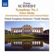 交響曲第1番、『ノートルダム』より シナイスキー&マルメ交響楽団