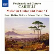 ギターとピアノのための作品全集第1集 フランツ・ハラス、デボラ・ハラス