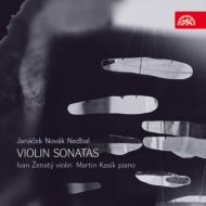 チェコのヴァイオリン・ソナタ集(ノヴァーク、ネトバル、ヤナーチェク) ジェナティー、カシーク