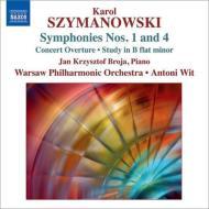 交響曲第1番、第4番、演奏会用序曲、練習曲 ヴィト&ワルシャワ・フィル