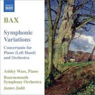 交響的変奏曲、左手のためのピアノ小協奏曲 ウェイス、ジャッド&ボーンマス響