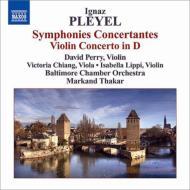 協奏交響曲、ヴァイオリン協奏曲 ペリー、ザーカー&ボルティモア室内管
