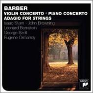 ヴァイオリン協奏曲、弦楽のためのアダージョ、他 スターン、バーンスタイン、オーマンディ、他